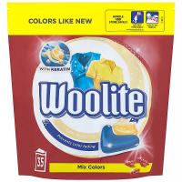 WOOLITE Mix Colors gélové kapsule na pranie 35 ks