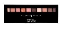 GABRIELLA SALVETE Palette 10 Shades očný tieň 12 g 01 Rose