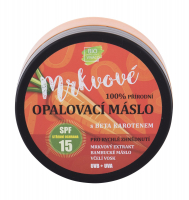 VIVACO Prírodné opaľovacie maslo s mrkvovým extraktom SPF 15 150 ml