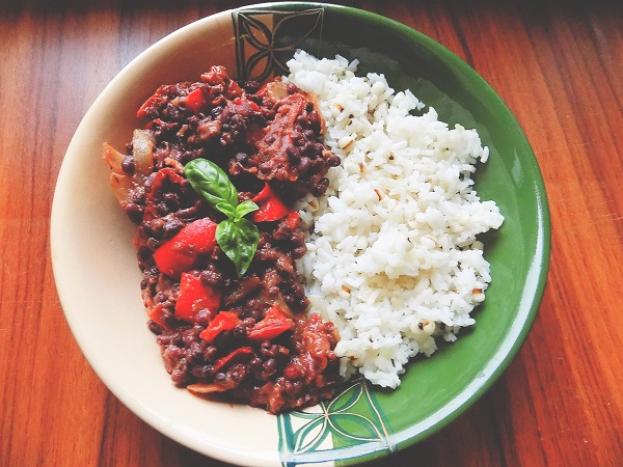 Zdravé varenie: Adzuki fazule s ryžou a slzovkou