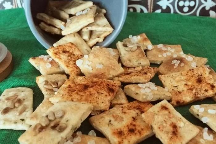 Zdravé varenie: Domáce chrumkavé krekery