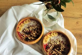 Zdravé varenie: Raňajková smoothie bowl