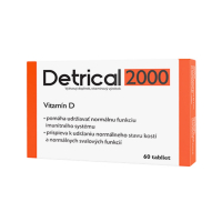 DETRICAL 2000 Vitamín D 60 tabliet