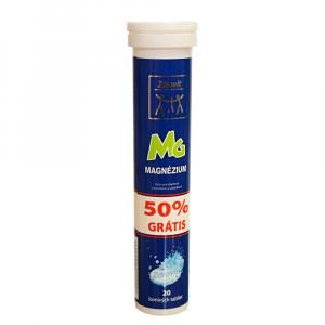 ZDROVIT Magnezium 50 % grátis 20 šumivých tabliet