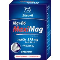 ZDROVIT MaxiMag Horčík 375 mg + vitamín B6 50 kapsúl