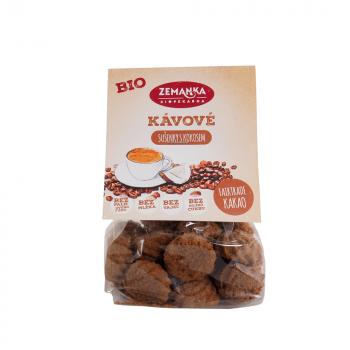 Kávové bio sušienky s kokosom 100 g