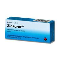 Zinkorot tbl 25 mg  (blis.PVC/Al) 5x10 ks (50 ks)
