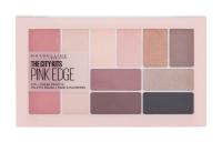 MAYBELLINE The City Dekoratívna kazeta Eye + Cheek Palette Pink Edge 12 g